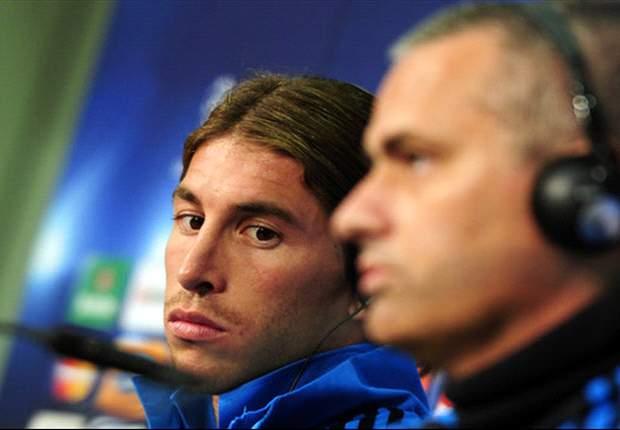 "LdC, Real - Mourinho : ""Une meilleure relation avec ma femme qu'avec Ramos"""
