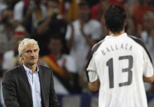 Rudi Völler sieht in Michael Ballack einen künftigen Trainer