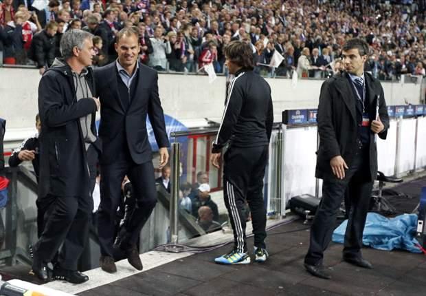 Dibantai Real Madrid, Frank De Boer Kecewa