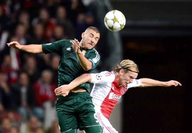 """LdC, Real - Benzema : """"Très content"""""""