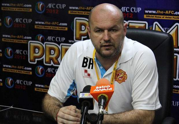 Bojan Hodak blames congested fixture list for loss against T-Team