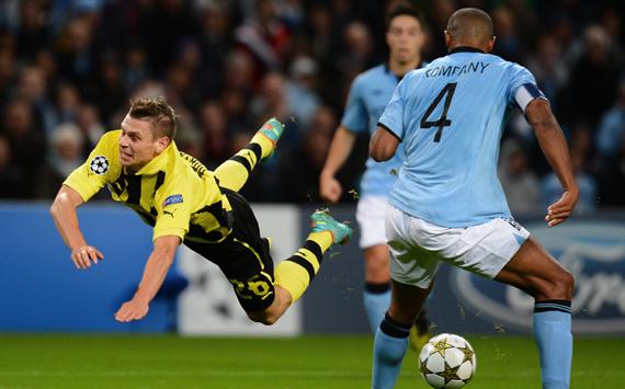 Which Dortmund players was Sir Alex Ferguson watching?