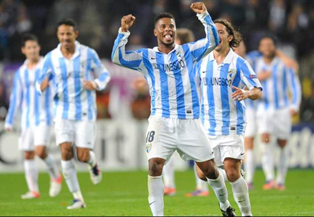 Anderlecht 0-3 Malaga: Pellegrini's side runs riot in Belgium to top Group C