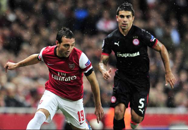 Arsenal thuis moeizaam langs Olympiakos