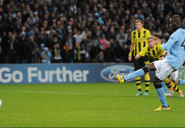 Manchester City 1-1 Borussia Dortmund: Ice cool Balotelli rescues precious Champions League point for Mancini's men