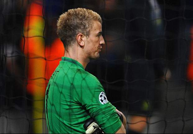 Hart: Manchester City let themselves down in Champions League