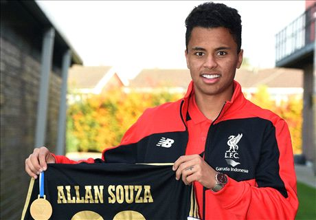 Liverpool's Allan set for loan unveiling