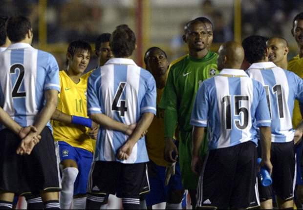 Argentina y Brasil acordaron reprogramar la revancha del Superclásico