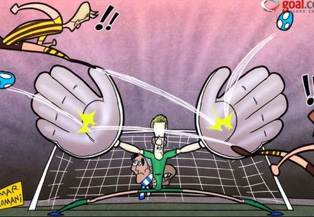 Joe Hart es el héroe de Manchester City ante Borussia Dortmund