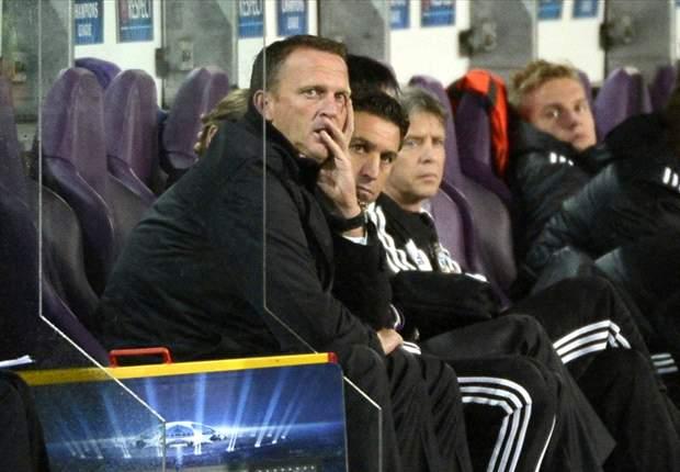 Anderlecht ontsnapt laat aan averij