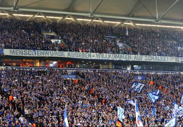 Schalkes Fans protestieren gegen Nacktkontrolle