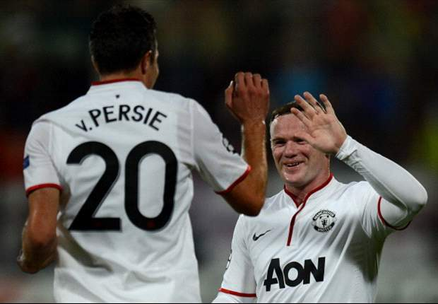 TEAM NEWS: Rooney, Van Persie & Welbeck all start for Manchester United against Newcastle