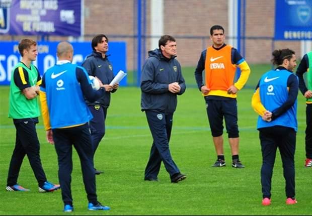 Falcioni espera por Albín y prepara al equipo para el domingo