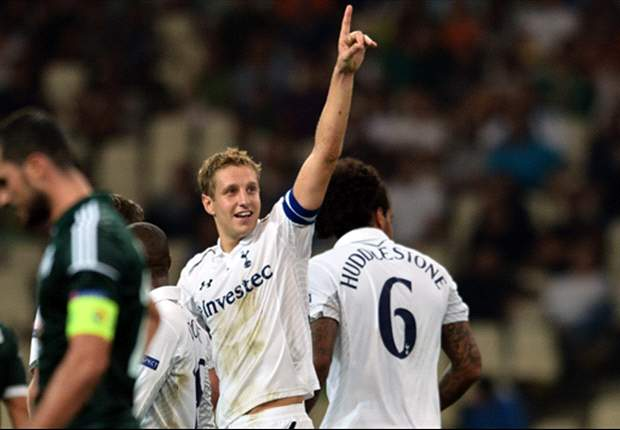 Panathinaikos 1-1 Tottenham: Dawson opener cancelled out as Spurs remain winless in Group J