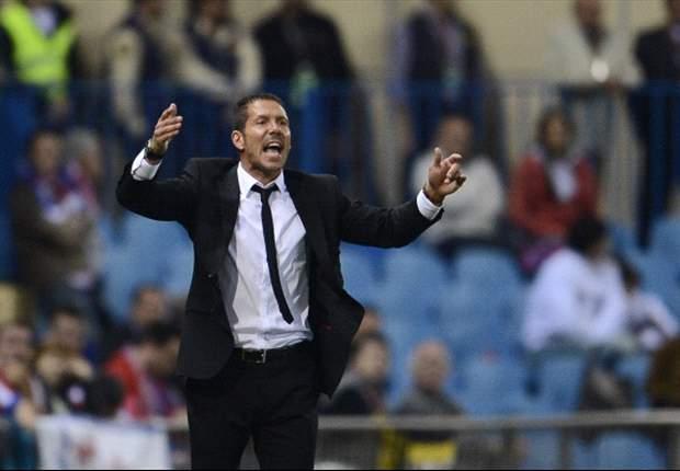 """Simeone, cuore da Colchoneros: """"Non potrei mai allenare il Real Madrid. Falcao? Intanto godiamocelo"""""""