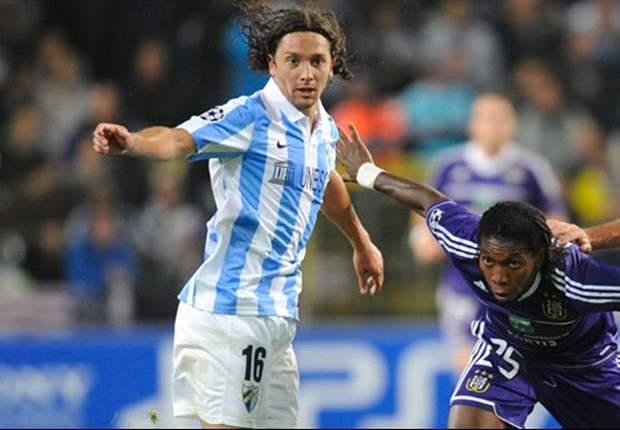 FC Malaga: Auslaufen gegen Anderlecht in der Champions League