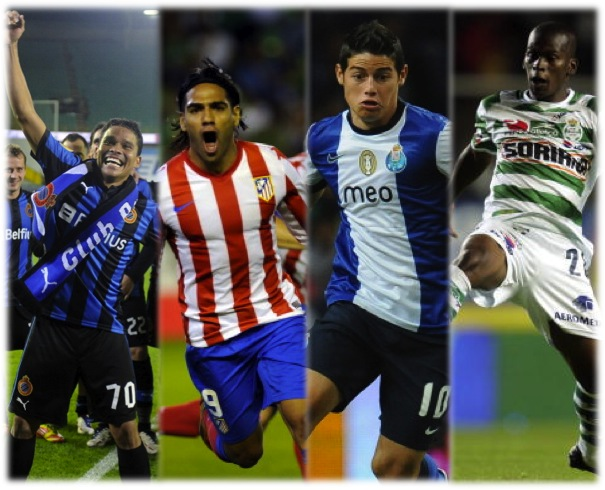 Los campeones Colombianos del 2012