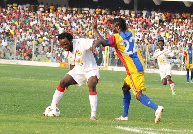 Amidaus 2-2 Hearts of Oak: The debutants put up another great display to frustrate the 20-time league champions