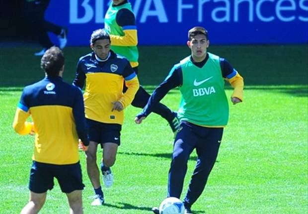 El twitter de Boca (@BocaJrsOficial) informó una ruptura total de ligamento deltoideo de tobillo izquierdo.