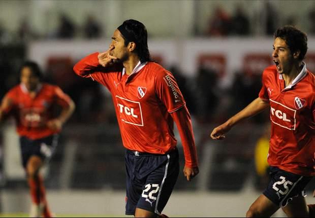 Independiente: Vargas por Santana, el único cambio para recibir a Atlético Rafaela