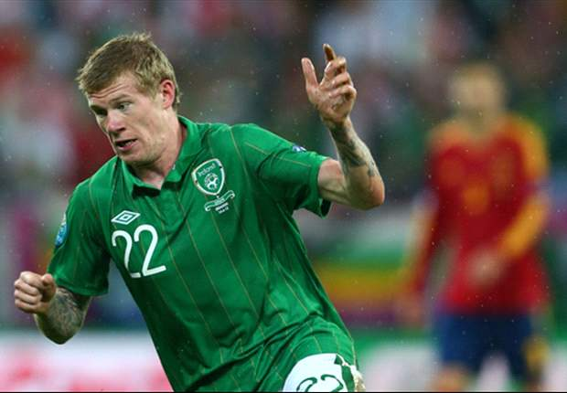 Sunderland winger McClean a doubt for Republic of Ireland clash with Germany