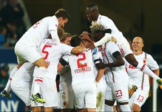 Augsburg pakt eerste winst, op Werder