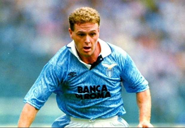 Paul Gascoigne to attend Lazio v Tottenham