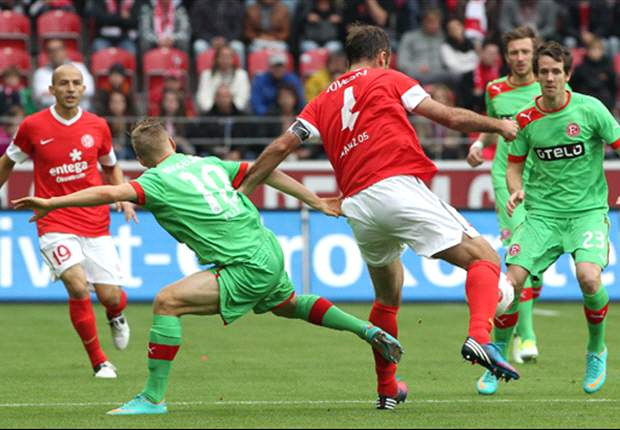 Erste Niederlage für Aufsteiger Düsseldorf