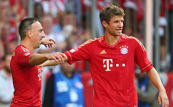 Die besten Akteure der Bundesliga nach Goal.com Noten