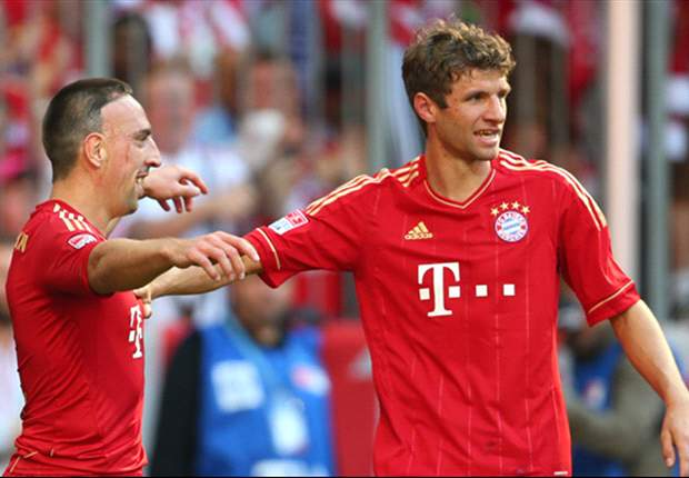 Bayern Munich 2-0 Hoffenheim: Ribery double enough for the Bavarians