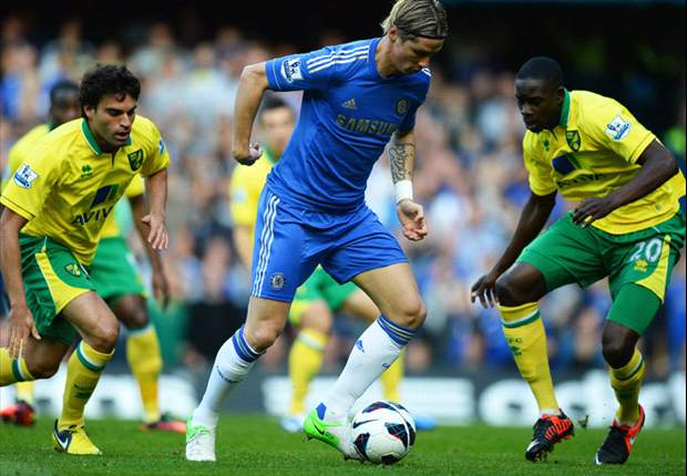 Chelsea 4-1 Norwich: Torres and Hazard in the goals as Di Matteo's men go four points clear