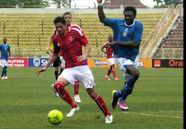 Ahly coach Hossam Al Badri not happy with result against Sunshine Stars