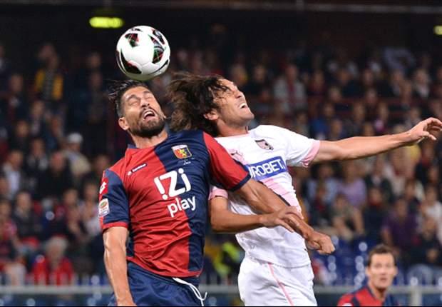 Genoa en Palermo schieten weinig op