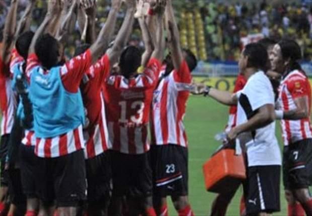 Tolima 2-2 Junior: Teo Gutiérrez vuelve a ser expulsado por sus codos