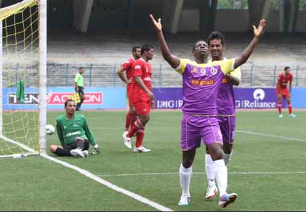 Prayag United's Ranti Martins: Determination, dedication and hard work help me score goals