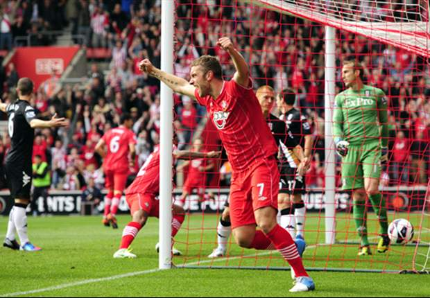 Rickie Lambert hopes to see out his career with Southampton