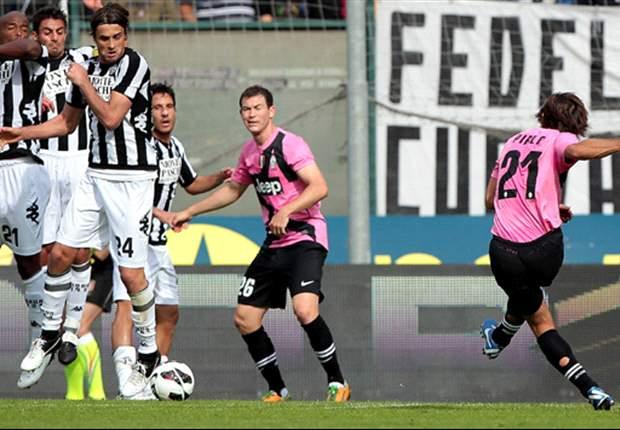 Siena 1-2 Juventus: Claudio Marchisio y Andrea Pirlo rescatan al líder