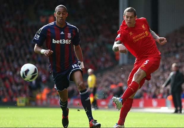 Liverpool 0-0 Stoke City: La dureza el Stoke moja la poca pólvora del Liverpool