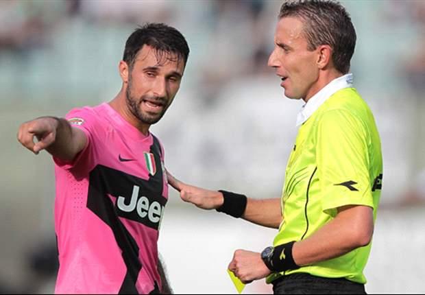 Arbitri di Coppa Italia: Juve-Milan a Mazzoleni, Lazio-Catania a Celi