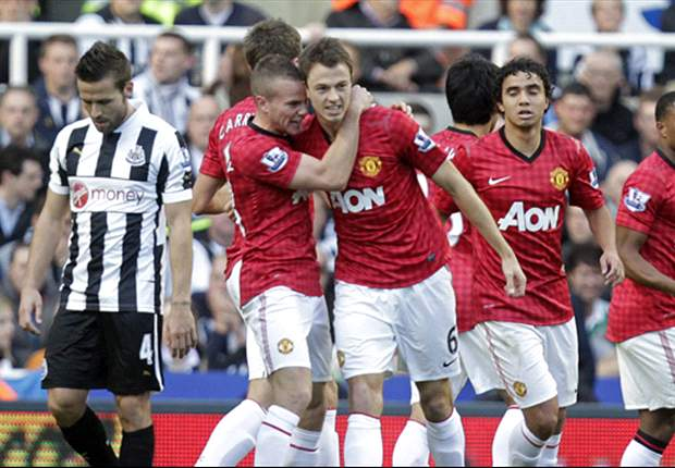 Man. Utd simpel langs matig Newcastle