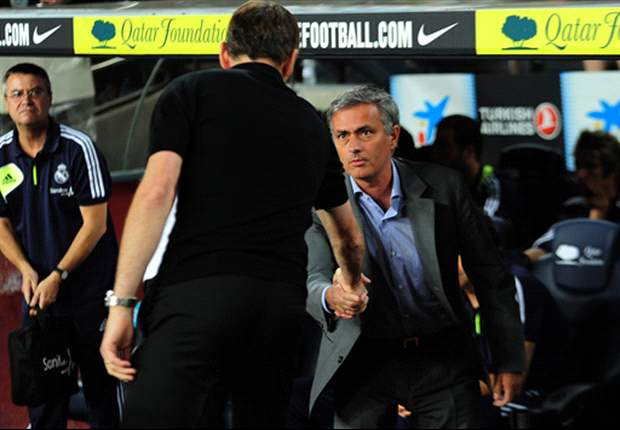 Mourinho's been more keen to ruffle feathers than shake hands in recent weeks...