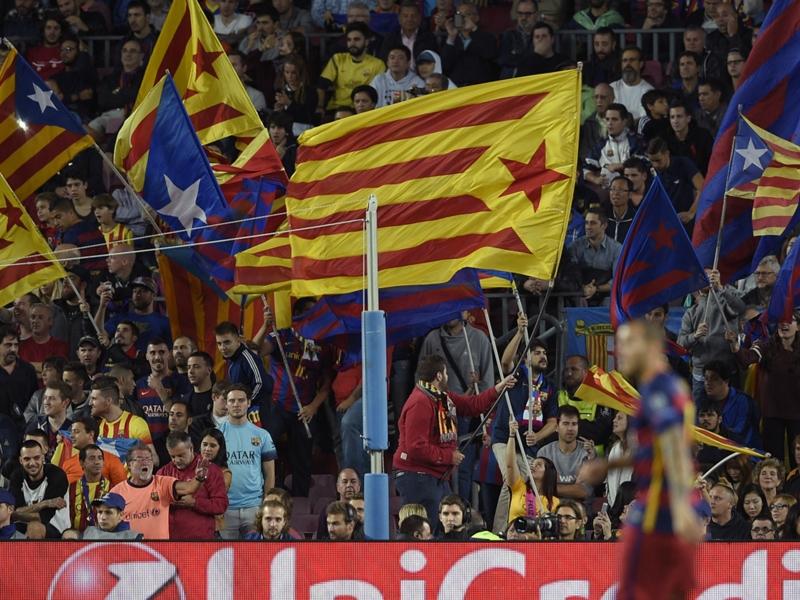 30000 drapeaux catalans prévus pour le Clasico