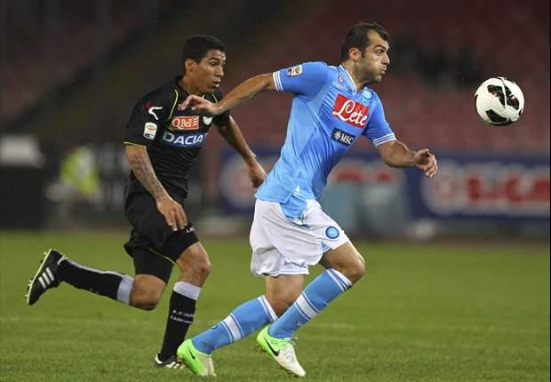 Napoli houdt gelijke tred met Juventus