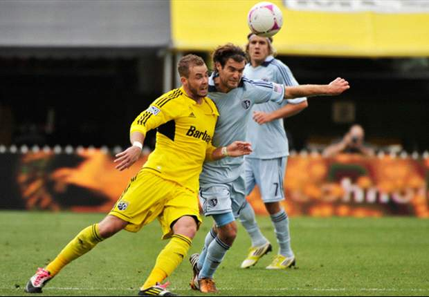Columbus Crew 1-1 Sporting Kansas City: Late Gaven goal gives Crew precious point