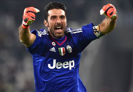 Juventus celebrate 20 years of Buffon