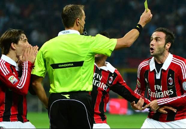 Milan furioso con Valeri, il fischietto romano è stato aggredito verbalmente da Ambrosini e Braida nel tunnel di San Siro