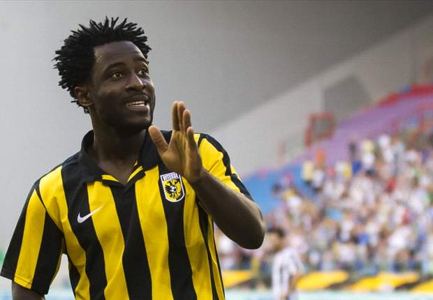 Vitesse striker Wilfried Bony dismisses PSG link