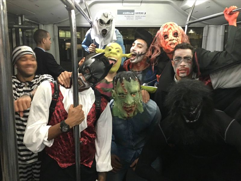 barcelona stars apologise for halloween prank