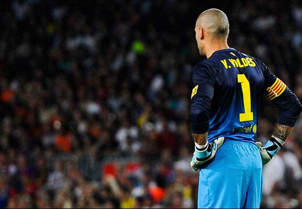 Valdés descarta rumores de que estaria a caminho do Liverpool