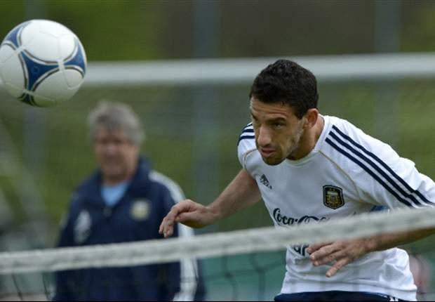 Maxi Rodríguez respeta a Uruguay, pero afirma que saldrán a ganar